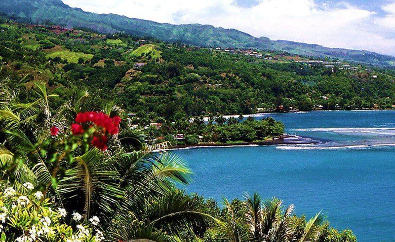 french polynesia tahiti island tour scenery