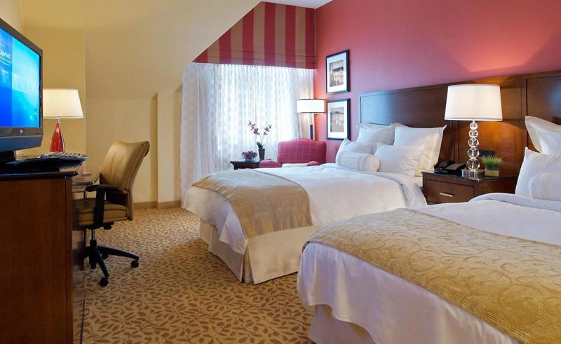 halifax marriott harbourfront hotel deluxe double room