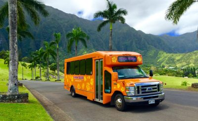 hawaii oahu majestic grand circle tour bus