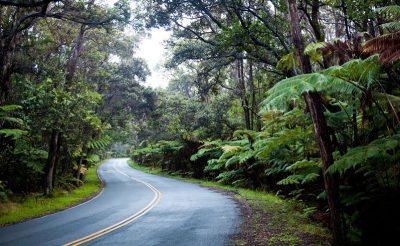 hawaii the big island road to volcanoe national park