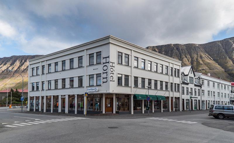 hotel horn exterior isjafjordur