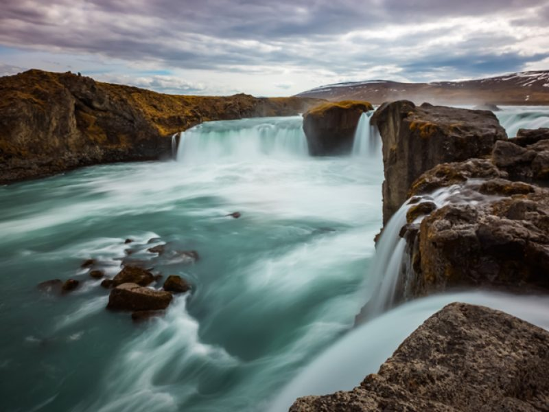 iain mallory Iceland blogone waterfall