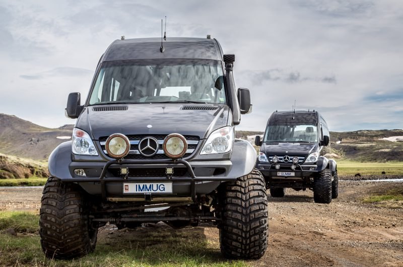 iceland 4wd touring by mercedes supertruck ggt