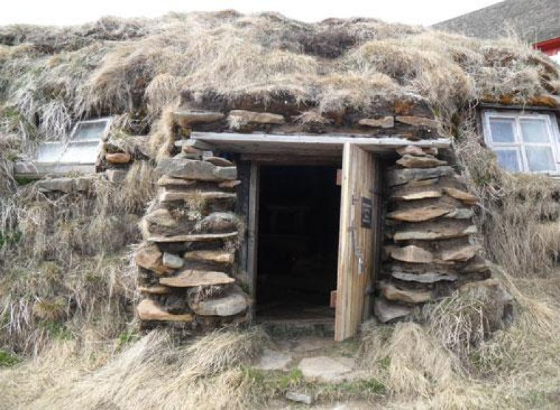 iceland Turf Winter house david mitchell