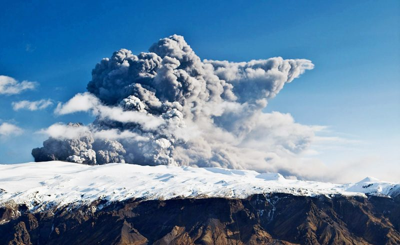 iceland eyjafjallajokull volcano