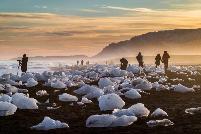 iceland jokulsarlon beach photograpers rth