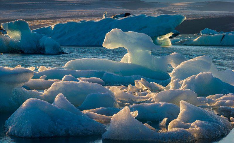 iceland jokulsarlon glacial ice rth