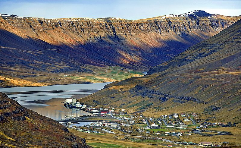 iceland north east seydisfjordur