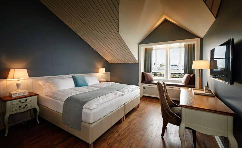 iceland north siglo hotel double with view