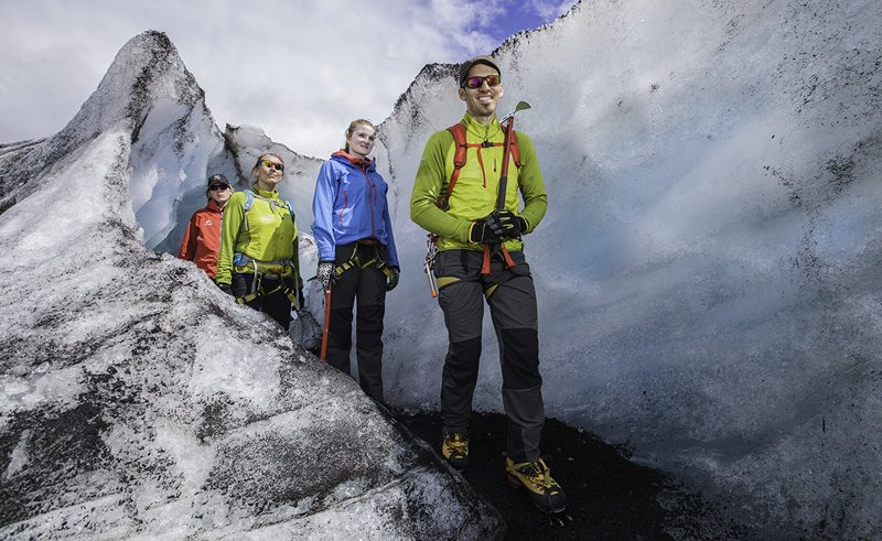 iceland south west glacier walk on sollheimajokull