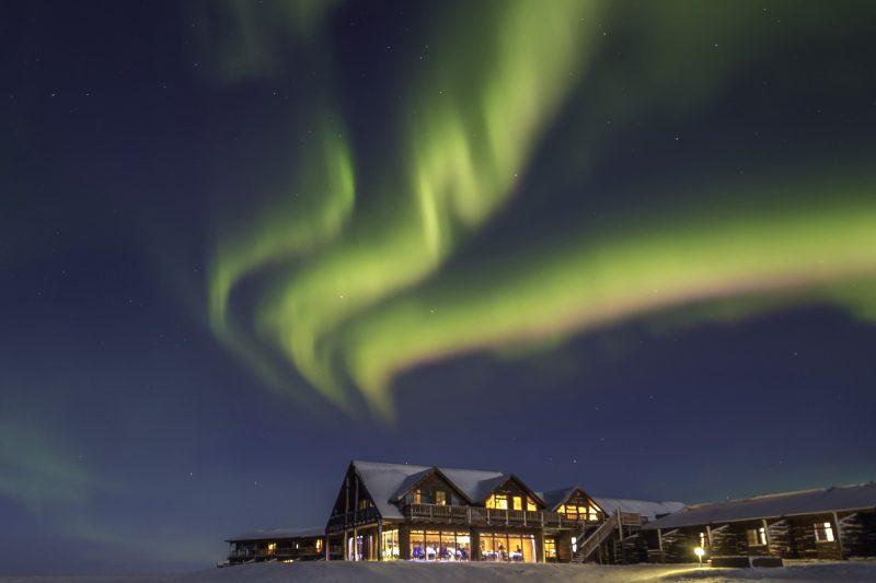 iceland south west hotel ranga northern lights