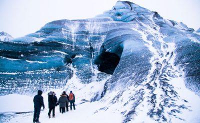 iceland south west katla ice cave entrance sthcstad
