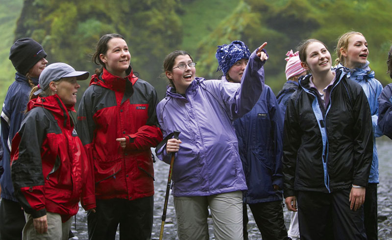iceland students awe and wonder rth