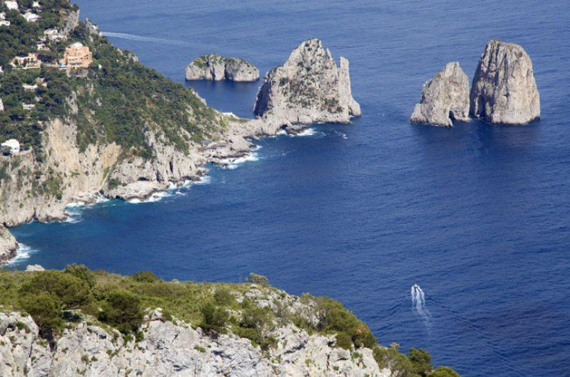 italy isle of capri coastline istock