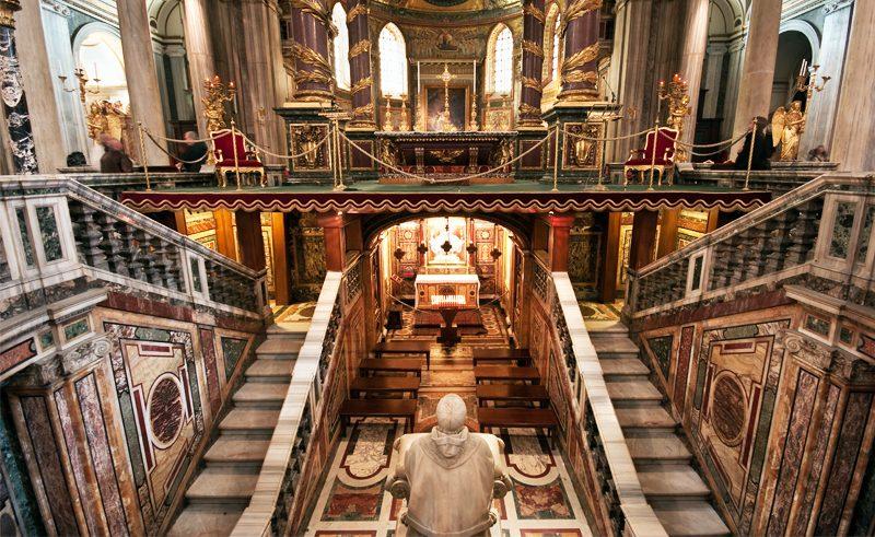 italy rome basilica di sanra maria maggiore