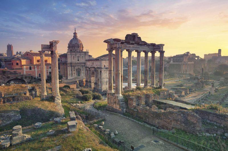 italy rome forum 1