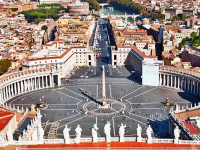 italy rome st peters square