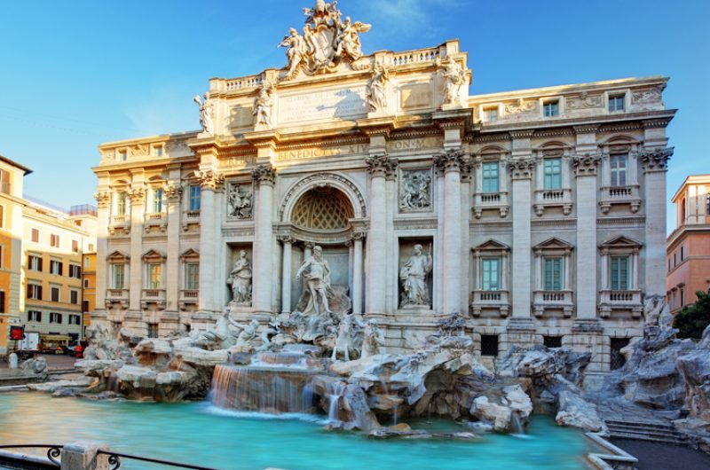 italy rome trevi fountain2