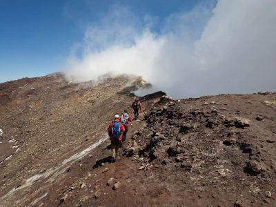 italy sicily hiking etna