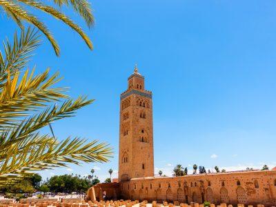 morocco marrakech koutoubia mosque istk