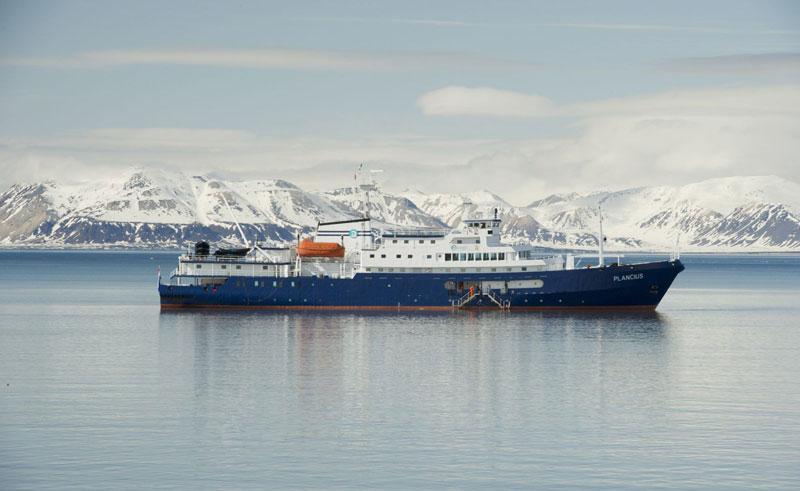 mv plancius ship exterior iceberg cruise