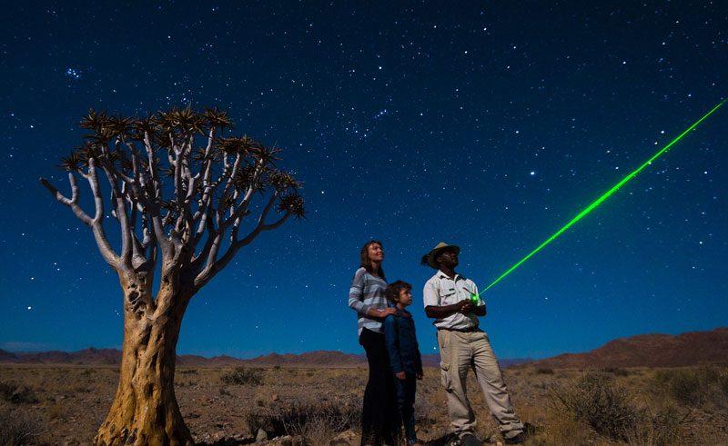 namibia stargazing lightbox