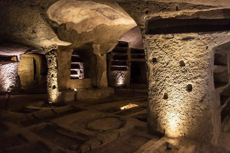naples catacombs san gennaro mathess