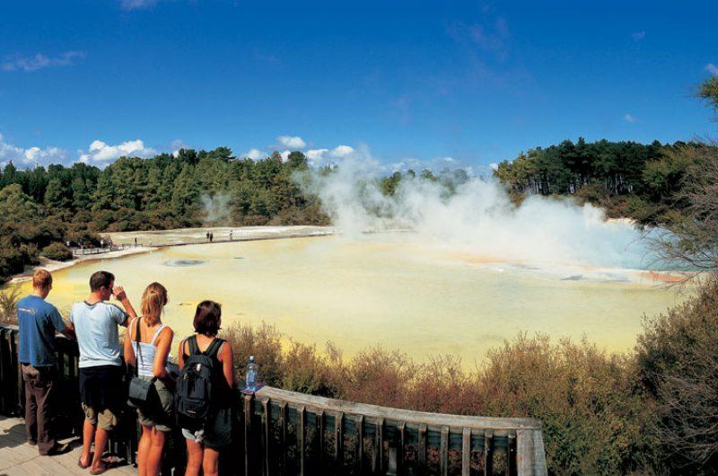 new zealand rotorua wai o tapu thermal reserve tnz