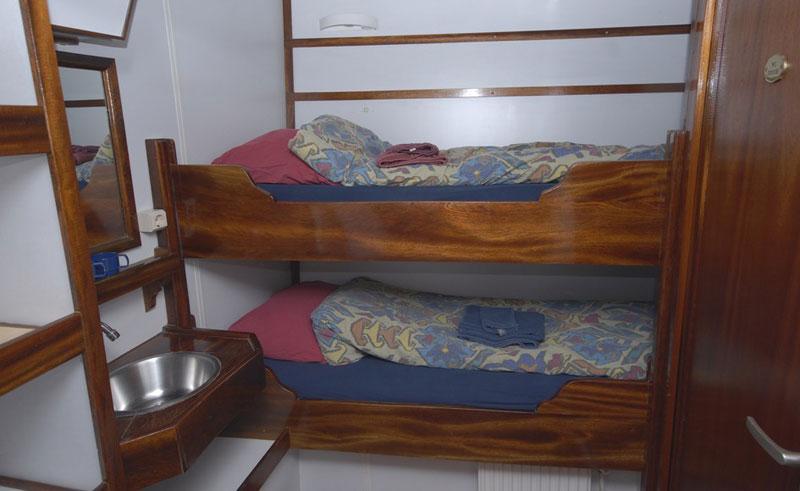 noorderlicht twin cabin oc