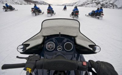 northern norway snowmobile controls