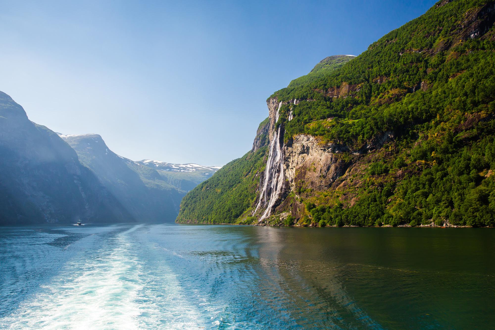 norway fjords seven sisters falls geirangerfjord istk