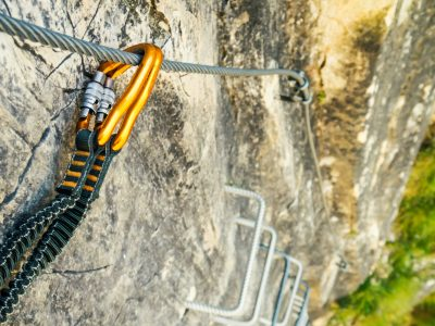 norway trolltunga via ferrata ladder istk