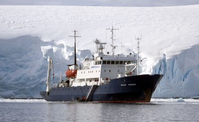 polar pioneer iceberg