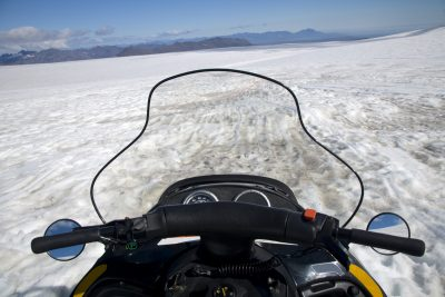 south iceland snowmobiling on glacier istk