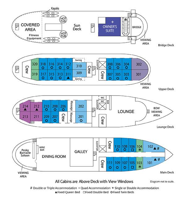 ss legacy deckplan