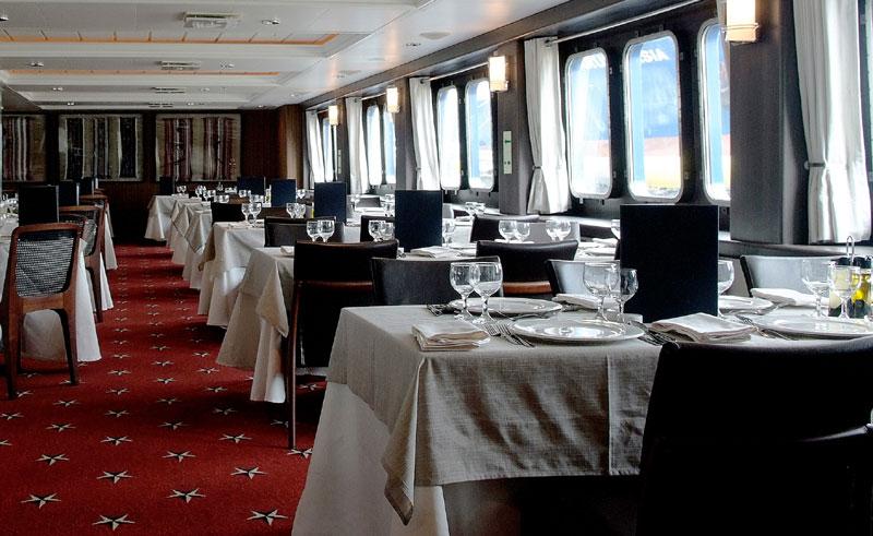 stella australis dining