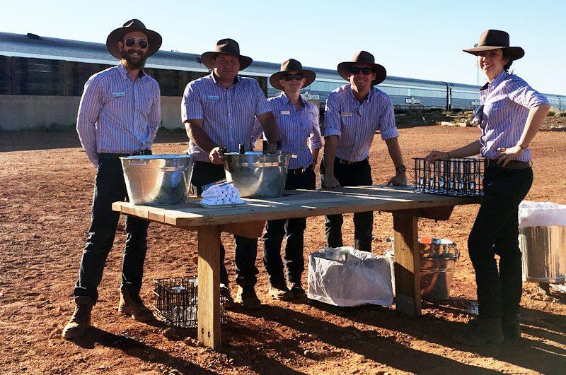sunset drinks at manguri australia