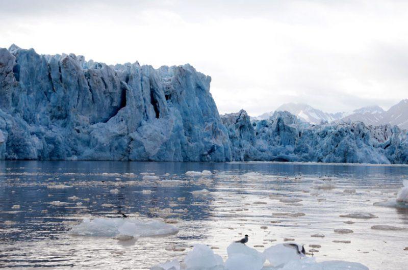 svalbard glacier wall basecamp voy