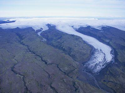 Solheimajokull in 1995