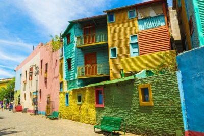 argentina buenos aires la boca caminito street istk
