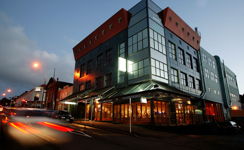 copthorne grand hotel new plymouth exterior