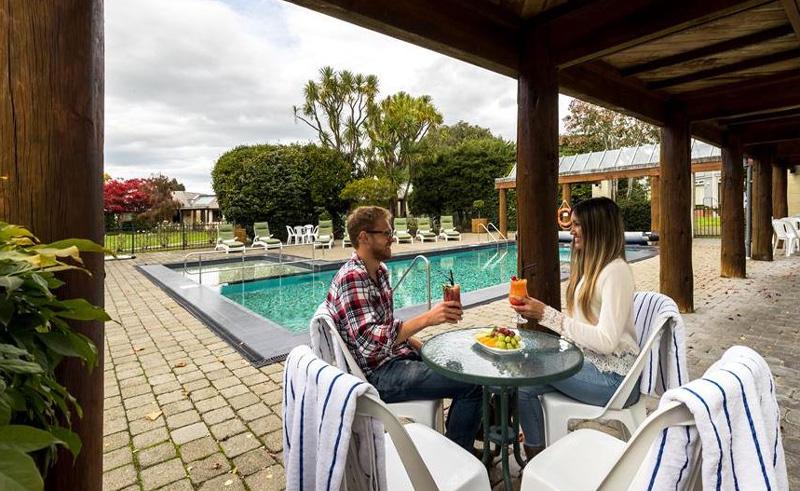distinction te anau hotel and villas pool