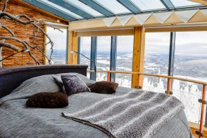 finnish lapland iso syote eagles view suite room with a view