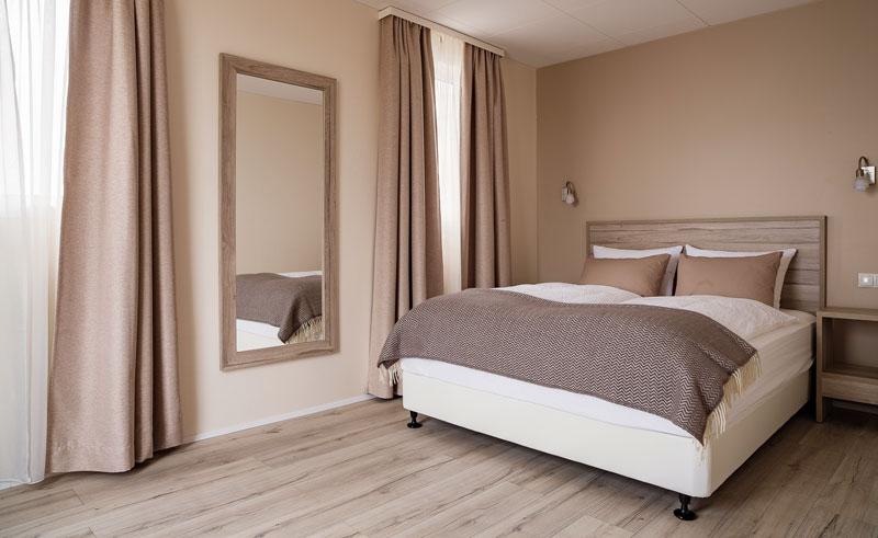 fransiskus hotel double room