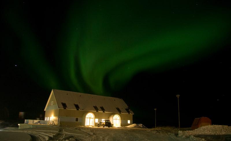 hotel disko bay northern lights