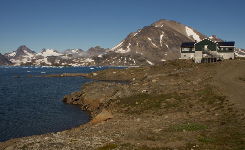 hotel kulusuk fjord location