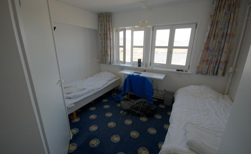 hotel kulusuk standard room