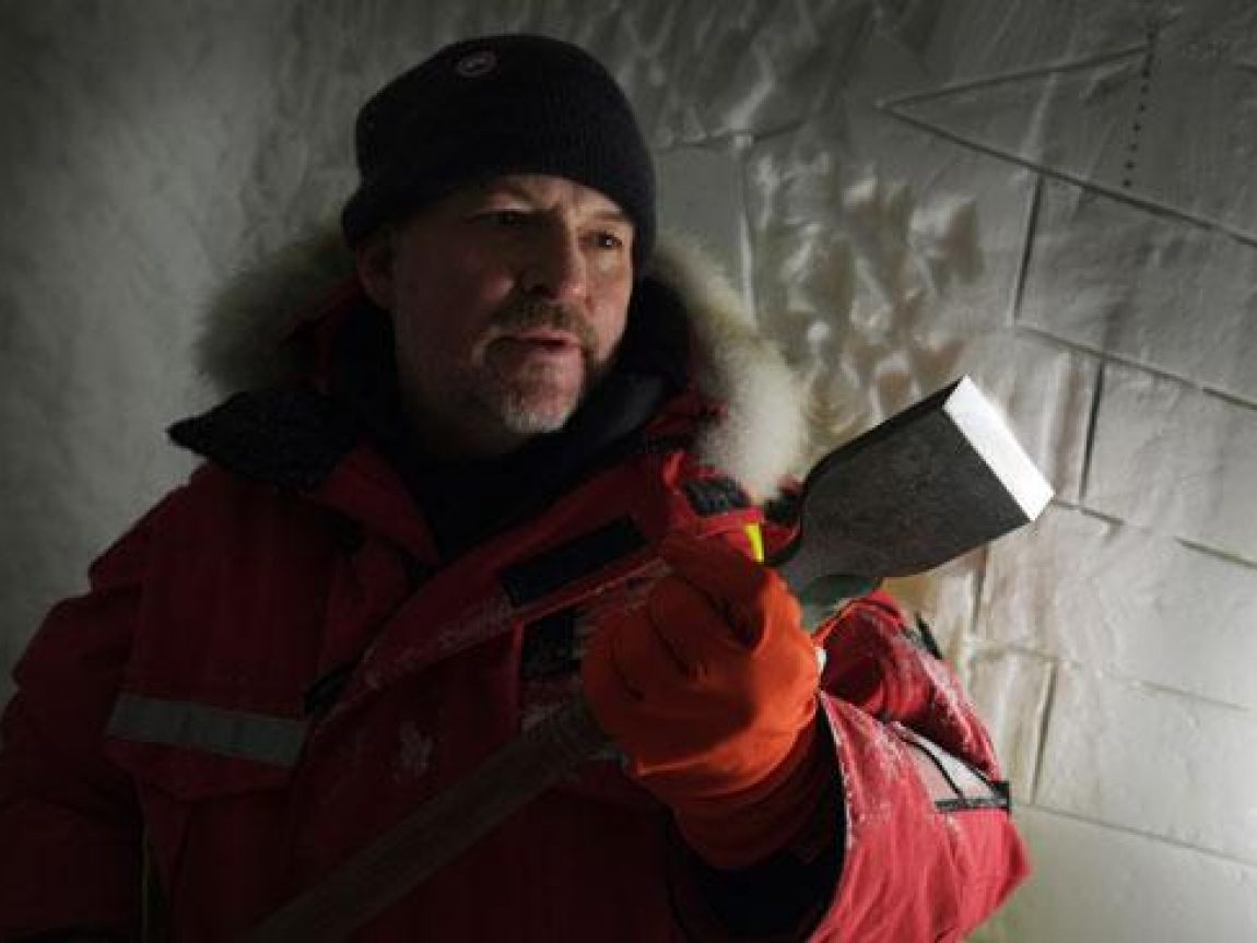 icehotel ice chisel