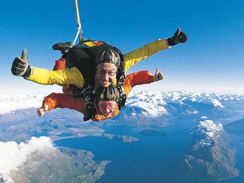 new zealand holly skydive