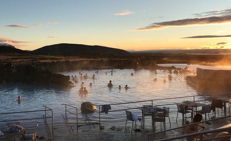 north iceland nature baths at myvatn